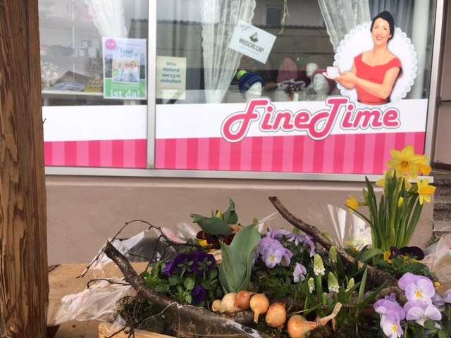 Das Feine-Zeit-Café in Steinheim