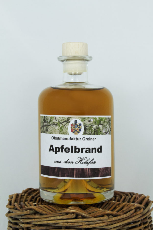 Apfel Edelbrand aus dem Sherryfass